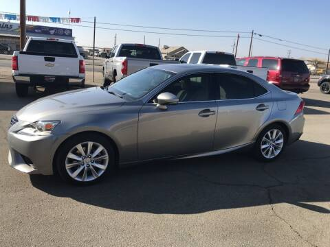 2014 Lexus IS 250 for sale at First Choice Auto Sales in Bakersfield CA