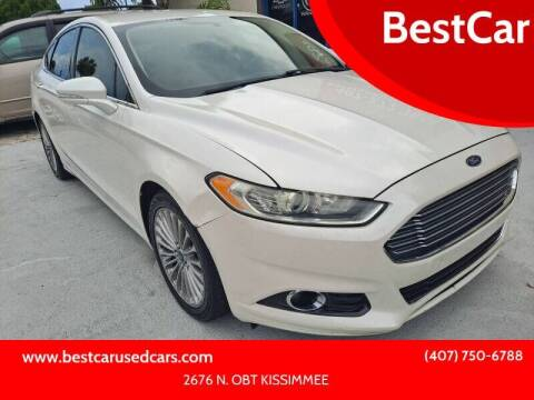 2014 Ford Fusion for sale at BestCar in Kissimmee FL