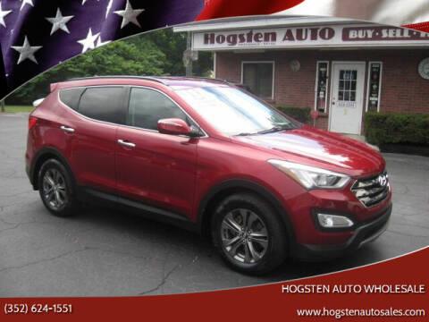 2013 Hyundai Santa Fe Sport for sale at HOGSTEN AUTO WHOLESALE in Ocala FL
