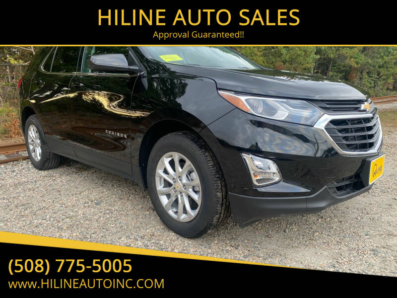 2020 Chevrolet Equinox for sale at HILINE AUTO SALES in Hyannis MA