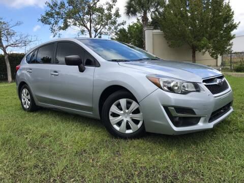 2016 Subaru Impreza for sale at Kaler Auto Sales in Wilton Manors FL