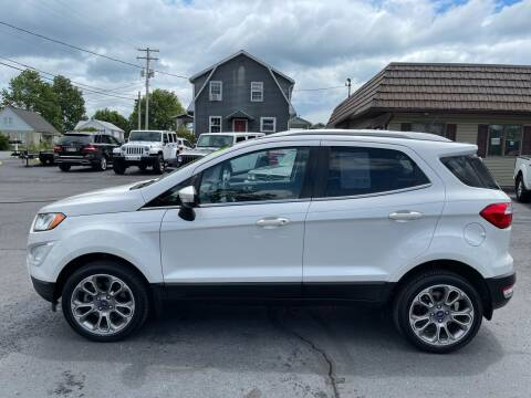 2018 Ford EcoSport for sale at MAGNUM MOTORS in Reedsville PA