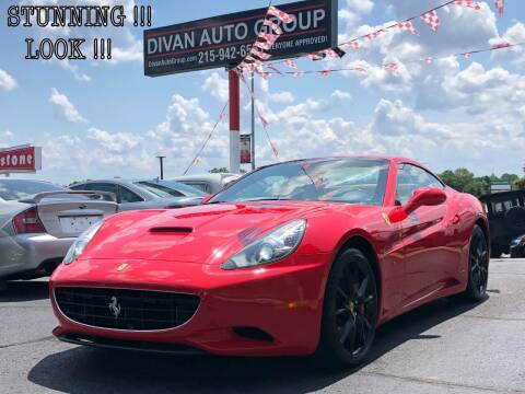 2010 Ferrari California for sale at Divan Auto Group in Feasterville PA