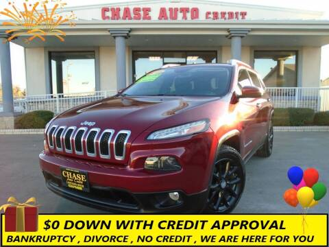 2016 Jeep Cherokee for sale at Chase Auto Credit in Oklahoma City OK