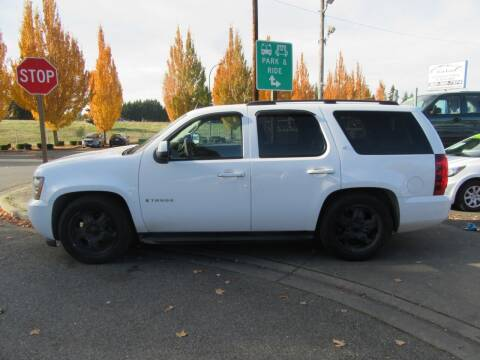 2007 Chevrolet Tahoe for sale at Car Link Auto Sales LLC in Marysville WA