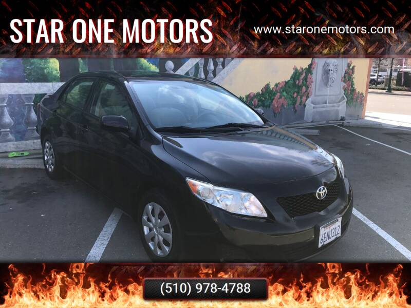 2009 Toyota Corolla for sale at Star One Motors in Hayward CA