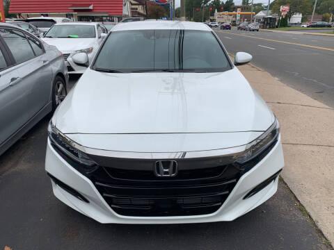 2019 Honda Accord for sale at MELILLO MOTORS INC in North Haven CT