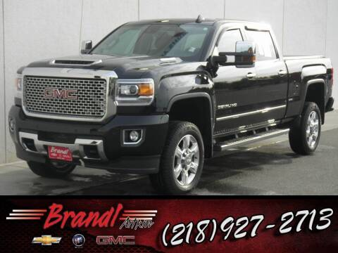 2017 GMC Sierra 2500HD for sale at Brandl GM in Aitkin MN