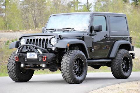 2016 Jeep Wrangler for sale at Miers Motorsports in Hampstead NH