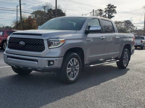 2018 Toyota Tundra for sale at Gentry & Ware Motor Co. in Opelika AL
