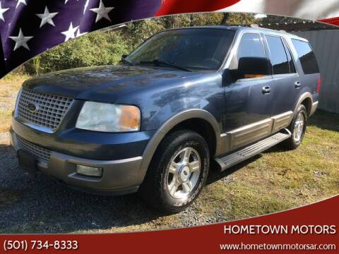 2003 Ford Expedition for sale at Hometown Motors in Maumelle AR