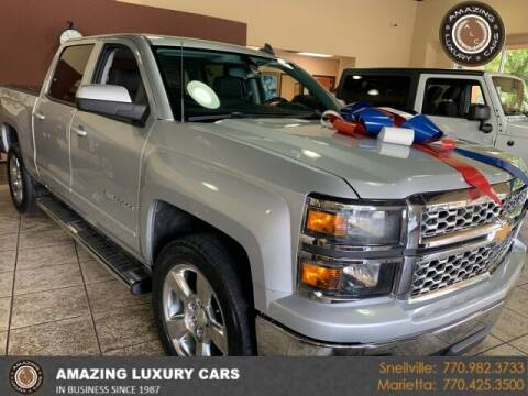 2015 Chevrolet Silverado 1500 for sale at Amazing Luxury Cars in Snellville GA