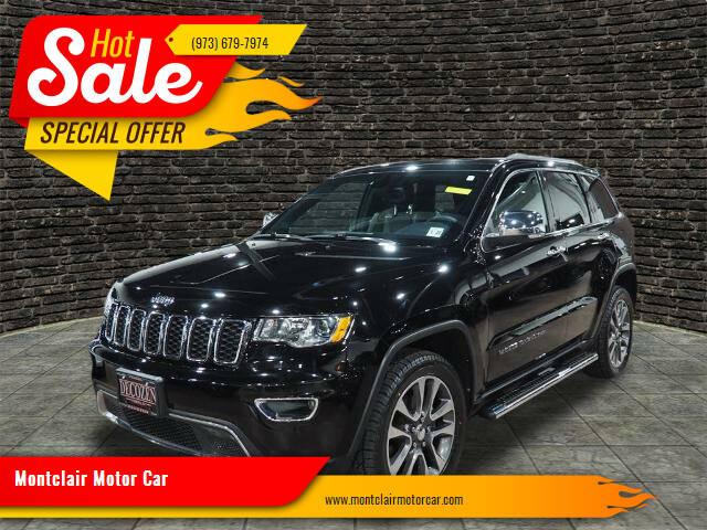 2018 Jeep Grand Cherokee for sale at Montclair Motor Car in Montclair NJ