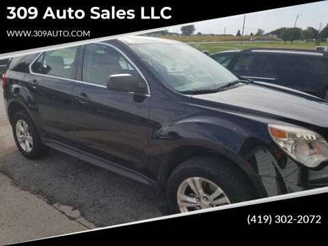 2011 Chevrolet Equinox for sale at 309 Auto Sales LLC in Harrod OH