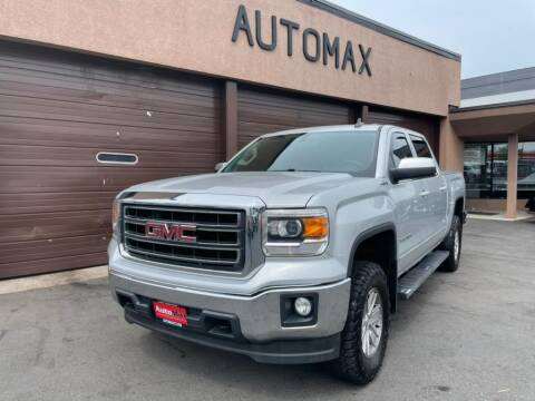 2015 GMC Sierra 1500 for sale at AutoMax in West Hartford CT
