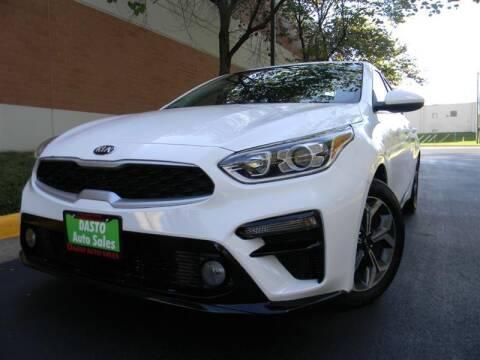 2021 Kia Forte for sale at Dasto Auto Sales in Manassas VA