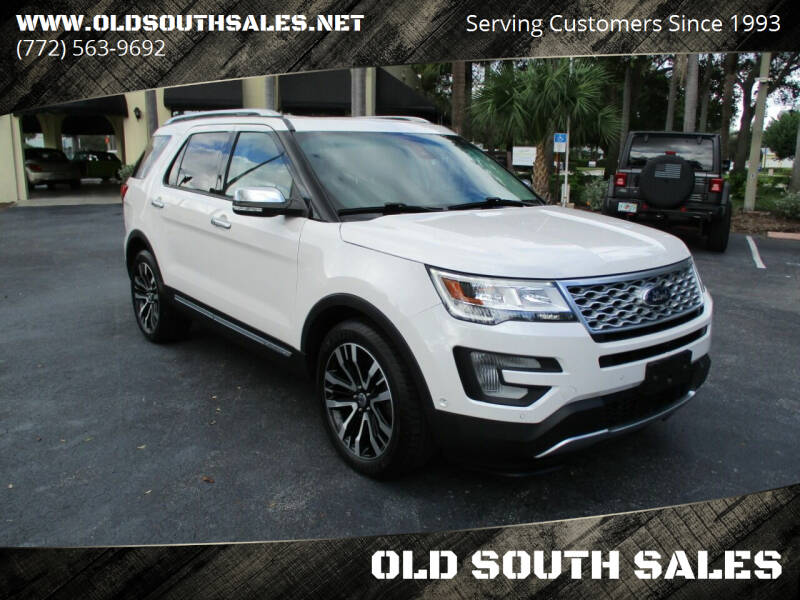 2016 Ford Explorer for sale at OLD SOUTH SALES in Vero Beach FL