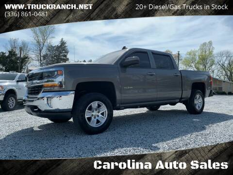 2017 Chevrolet Silverado 1500 for sale at Carolina Auto Sales in Trinity NC