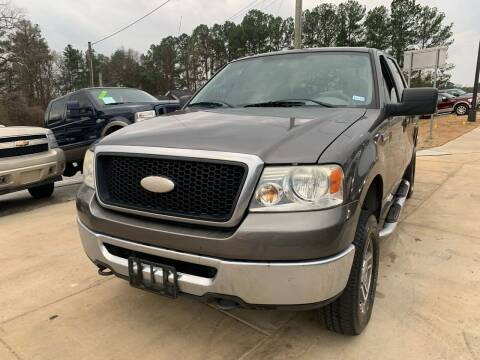 2007 Ford F-150 for sale at Alpha Car Land LLC in Snellville GA