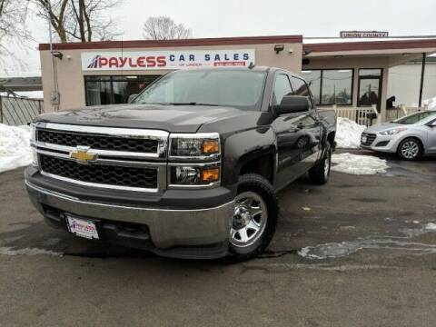 2014 Chevrolet Silverado 1500 for sale at PAYLESS CAR SALES of South Amboy in South Amboy NJ