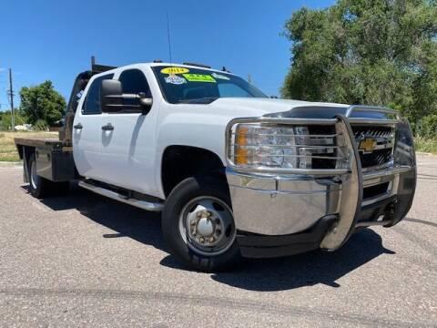 2014 Chevrolet Silverado 3500HD for sale at UNITED Automotive in Denver CO