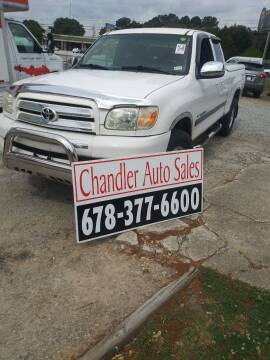 2006 Toyota Tundra for sale at Chandler Auto Sales - ABC Rent A Car in Lawrenceville GA
