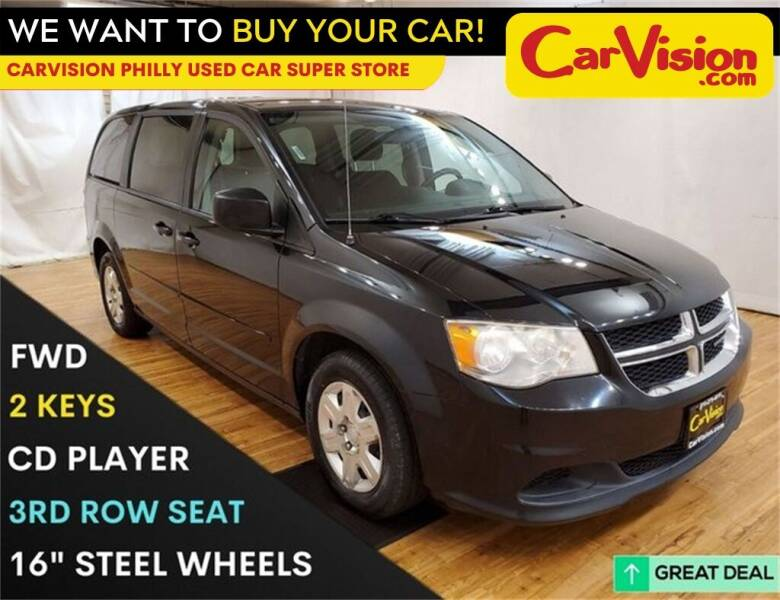 2012 Dodge Grand Caravan for sale at Car Vision Mitsubishi Norristown - Car Vision Philly Used Car SuperStore in Philadelphia PA