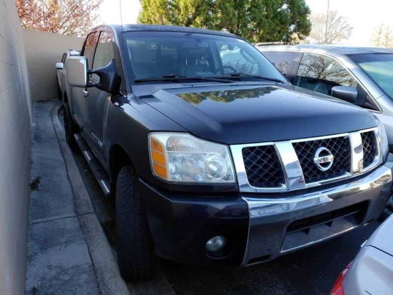 2006 Nissan Titan for sale at Auto Solutions in Maryville TN