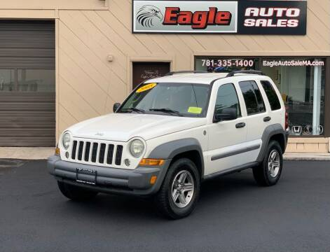 2005 Jeep Liberty for sale at Eagle Auto Sales LLC in Holbrook MA