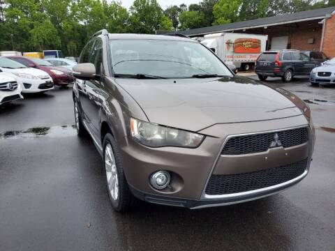 2012 Mitsubishi Outlander for sale at Complete Auto Center , Inc in Raleigh NC