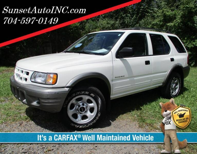 2002 Isuzu Rodeo for sale in Charlotte, NC