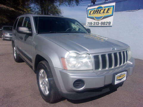 2005 Jeep Grand Cherokee for sale at Circle Auto Center in Colorado Springs CO