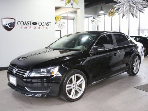 2014 Volkswagen Passat for sale at Coast to Coast Imports in Fishers IN