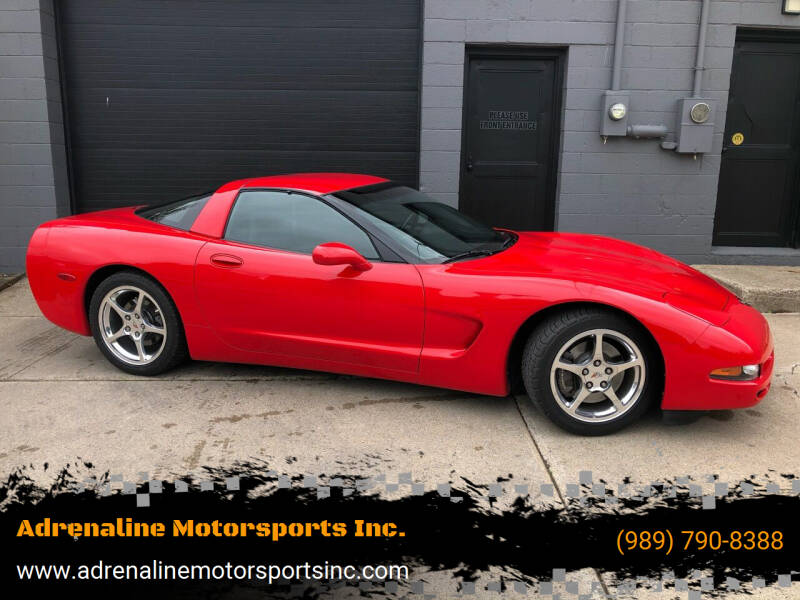 2004 Chevrolet Corvette for sale at Adrenaline Motorsports Inc. in Saginaw MI