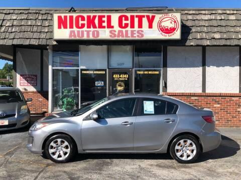 2013 Mazda MAZDA3 for sale at NICKEL CITY AUTO SALES in Lockport NY