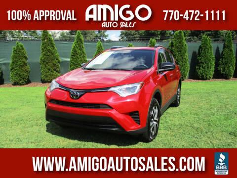2017 Toyota RAV4 for sale at Amigo Auto Sales in Marietta GA