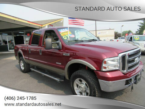 2007 Ford F-250 Super Duty for sale at Standard Auto Sales in Billings MT