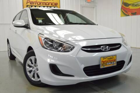2017 Hyundai Accent for sale at Performance car sales in Joliet IL