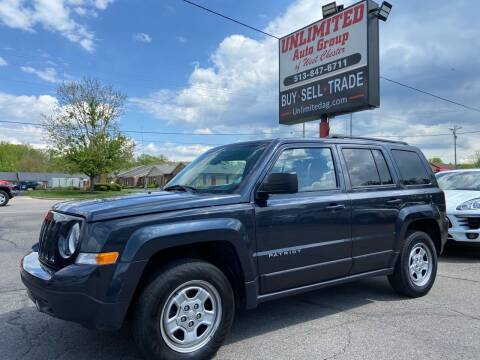 2016 Jeep Patriot for sale at Unlimited Auto Group in West Chester OH