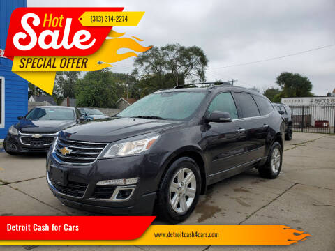 2014 Chevrolet Traverse for sale at Detroit Cash for Cars in Warren MI