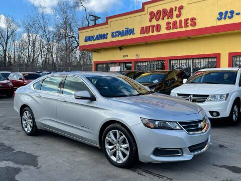 2017 Chevrolet Impala for sale at Popas Auto Sales in Detroit MI