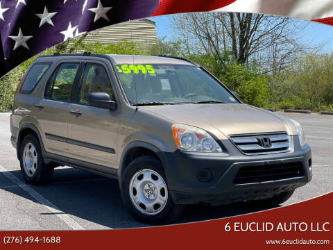 2006 Honda CR-V for sale at 6 Euclid Auto LLC in Bristol VA
