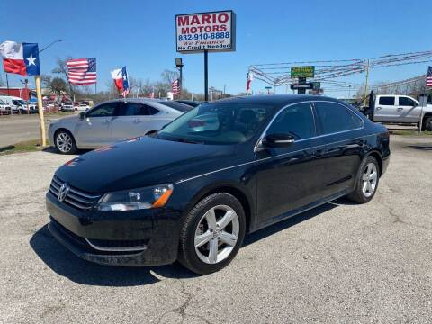 2013 Volkswagen Passat for sale at Mario Motors in South Houston TX