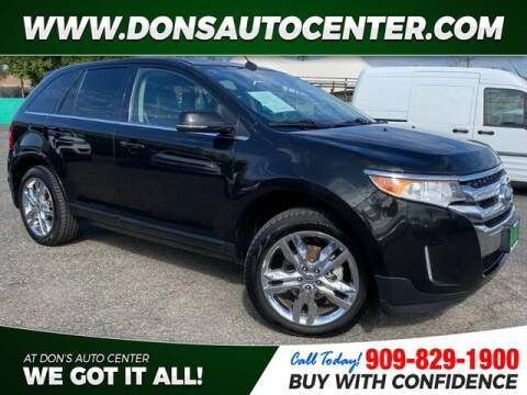 2014 Ford Edge for sale at Dons Auto Center in Fontana CA