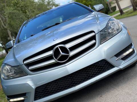 2013 Mercedes-Benz C-Class for sale at HIGH PERFORMANCE MOTORS in Hollywood FL