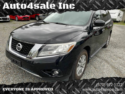 2014 Nissan Pathfinder for sale at Auto4sale Inc in Mount Pocono PA