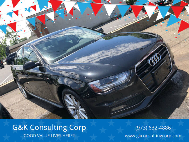 2014 Audi A4 for sale at G&K Consulting Corp in Fair Lawn NJ