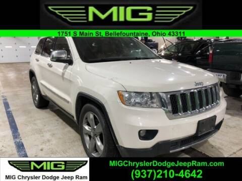 2011 Jeep Grand Cherokee for sale at MIG Chrysler Dodge Jeep Ram in Bellefontaine OH