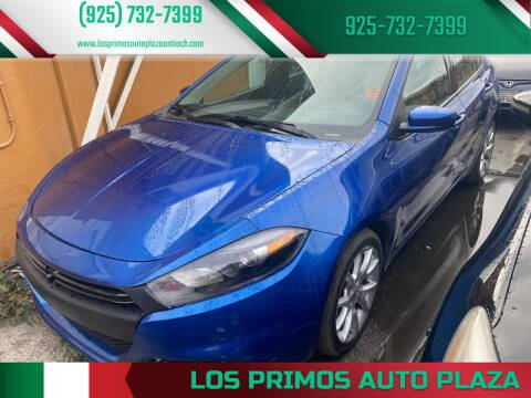2013 Dodge Dart for sale at Los Primos Auto Plaza in Antioch CA