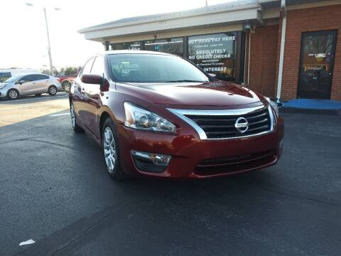 2014 Nissan Altima for sale at Guidance Auto Sales LLC in Columbia TN